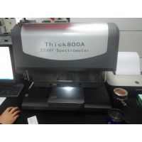 江苏天瑞仪器生产的X荧光镀层测厚仪最为热销的型号为Thick800A