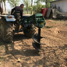 拖拉机植树机 全自动挖坑机