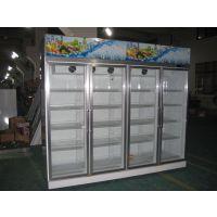 【郑州饮料柜】河南郑州饮料风幕柜厂家|双门风幕柜