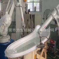 ABB大型厚片吸塑修边医疗器械切边浴缸切割机器人