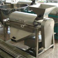 不锈钢水果打浆机 河北小型食品厂用果酱机 菜叶甜菜粉碎机