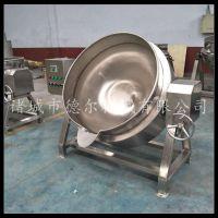 大锅粥 稀饭蒸煮锅 德尔厂家直销 电加热不锈钢夹层锅