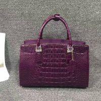 高奢品鳄鱼皮鸵鸟皮礼品手工艺术品公文包手提包