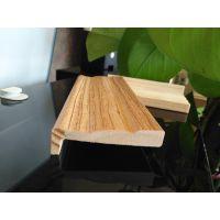 广州 5分 弧形 贴木皮 花梨实木装饰线 斯柏林厂家批发