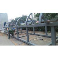 三维钢构供应Q235观光钢结构电梯井加工