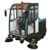 驾驶式扫地车工业用户外清扫垃圾树叶用振瑞斯大型电动扫地机