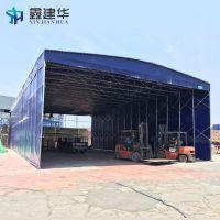 内蒙古通辽市 推拉雨篷停车雨棚布大排档雨棚大型工厂定帐篷