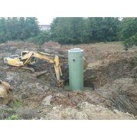 上海一体化玻璃钢预制污水提升泵站