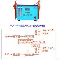 SQC-1000双路大气采样器双通道大气采样仪