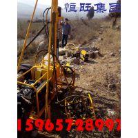 云南物探地震波山地钻机 小型气动石油钻机 恒旺专业厂家