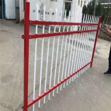 大学围墙护栏 大学外墙隔离护栏 锌钢市政隔离栏杆