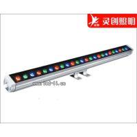 湖南长沙七彩LED洗墙灯厂家 保障/保证 寿命长 高光效性价比高灵创照明