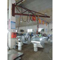 东莞塘厦焊接加工 空调风管法兰悬吊焊 兢诚焊机设备生产厂家