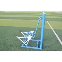 小区健身路径社区健身器材单人坐推臂力训练器 剑桥 铁