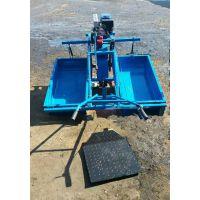 浮箱式水田运苗机是单驱动轮运苗机