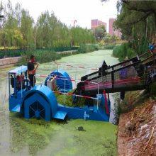 湖南小型碎草船价格 收集水藻机械尺寸