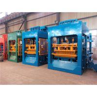 厂家生产供应全自动液压砖机小型 免烧砖机水泥切块砖制砖机