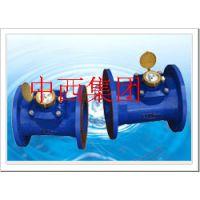 中西(LQS特价)可拆卸水平螺翼式水表 中国 型号:LYG10-LXLCR-100库号:M29374