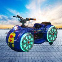 广场娱乐设备儿童电动游乐摩托车双人漂移车未来战车游乐场碰碰车场地游艺设备