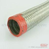天津driflex厂家供应穿线金属软管304不锈钢编织防爆浪管