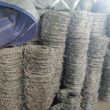 南昌电镀锌刺丝围栏网供货商&一吨带刺铁丝多少钱?