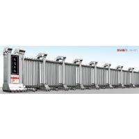 宜昌电动伸缩门、铝型材大门、道闸安装报价信德成-JH