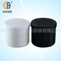 PP1000ml油墨罐敞口直筒 1L塑料包装瓶 螺旋盖带内盖包装桶