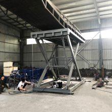 合肥机械公司定做固定式液压升降平台 电动升降卸猪台