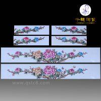 异型瓷板瓷片样式 工艺 图片 景德镇异型瓷板瓷片价格 定制