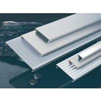 300mm宽面长条铝扣板- 条形铝扣板,喷粉条形铝天花