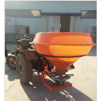 拖拉机后置撒肥机 塑料桶撒肥机 1000斤大容量撒肥机 颗粒肥施肥器