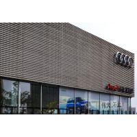 奥迪外墙广告牌墙身银灰色铝单板450*1980mm长期指定德普龙品牌