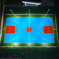 小榄镇体育公园灯杆照明 天台球场灯光要求 篮球场灯杆啥价位
