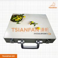 宜度直销钢材新款热销钢质包装箱 石材铁盒 优质石材样品盒 TX001