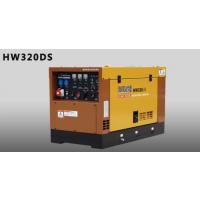 电王HW320DS日本久保田柴油300A发电电焊机价格