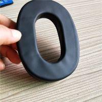 厂家直销吸塑成型皮耳套 高周波热压成型耳机套 柔软舒适