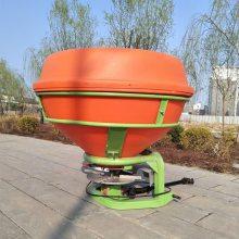 现货直供悬挂式撒播机750L大容量施肥机拖拉机后置化肥抛撒机