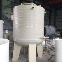 吉利PP反应釜塑料焊接搅拌桶PP过滤槽防腐反应槽 可来图 厂家定制