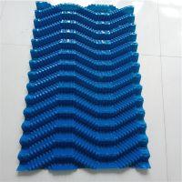 供应电厂双曲线水泥冷却塔PVC S波冷却塔填料厂家-泰赢