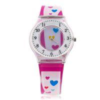 外贸供应商 500起订石英塑胶手表 防水时尚 男女腕表