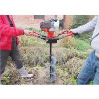 80深坑挖坑机 优质电线杆子钻眼机 耐用螺旋打洞机