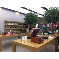 新款苹果官方木质水曲柳体验台体验桌中岛柜配件柜定制批发