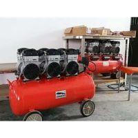 上海劲豹无油空压机节能耐用型号SLH90功率2400W气桶容量90L静音无油空压机