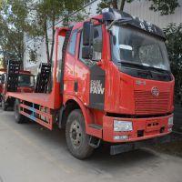 解放J6挖机平板运输拖车价格 解放挖机拖车价格2.0l