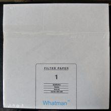 Whatman 沃特曼1号定性滤纸 方形滤纸1001-917中等流速