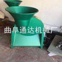工厂直供 甘肃洋芋子电动切片机 多用途芋头地瓜切片机 通达机械
