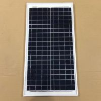 厂家直销全网最低多晶30W太阳能电池板