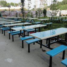 厂家直销揭阳学校食堂餐桌 饭堂餐桌价格