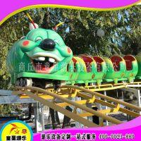 青虫滑车场大型游乐设备童星游乐生产厂家深受好评