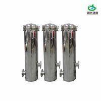 天然气水处理专用 不锈钢精密过滤器晨兴制造可定制